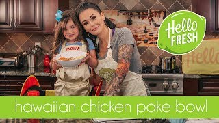 COOKING WITH JWOWW & MEILANI: CHICKEN POKE BOWLS