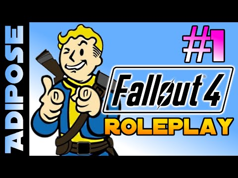 Let's RolePlay Fallout 4! #1 - The Day the bombs fell
