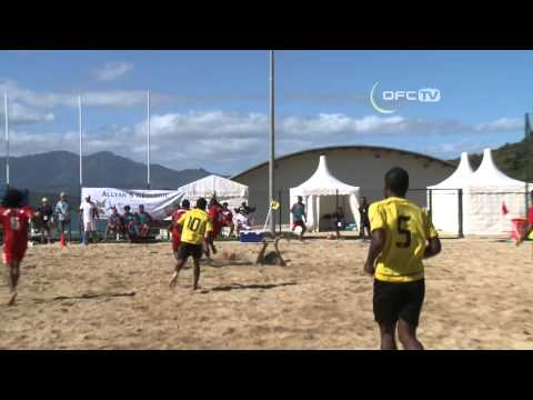 2013 OFC Beach Soccer Championship Match 2 Vanuatu vs New Caledonia Highlights