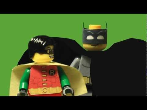 El intro de la serie de Batman en los 60 hecho con Legos