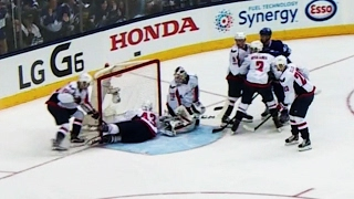 Gotta See It: Wilson makes save of the series and scores on same shift