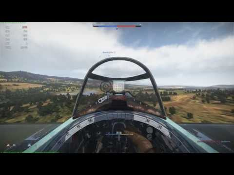 War Thunder И-16 тип-28 - Real Battle