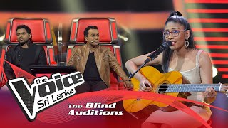 Sukheetha Vishwaji - Ragahala Dan Blind Auditions | The Voice Sri Lanka