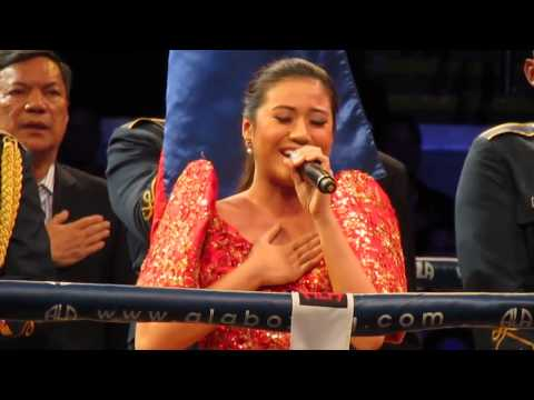Morissette Amon Sings The Philippine National Anthem(lupang Hinirang) video