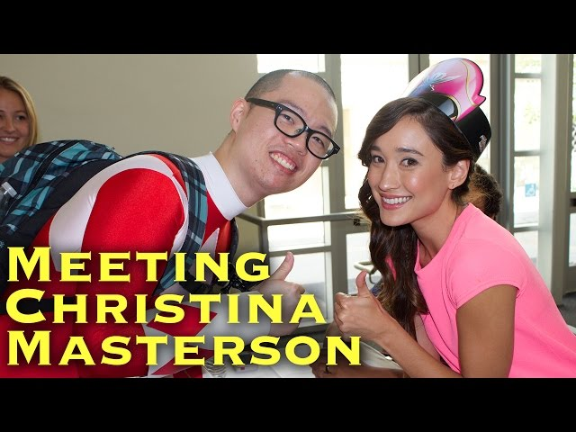 Meeting Christina Masterson at Power Morphicon 2014
