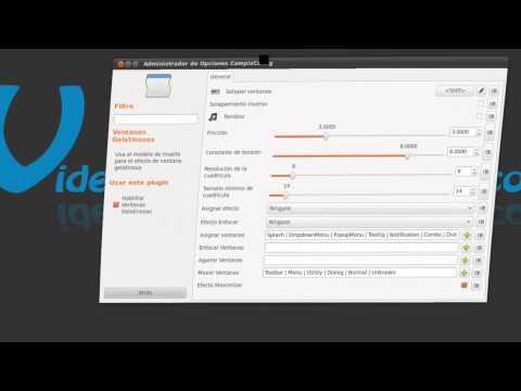 Ventanas Gelatinosas Efectos 3D - Ubuntu 10.10 Maverick Meerkat