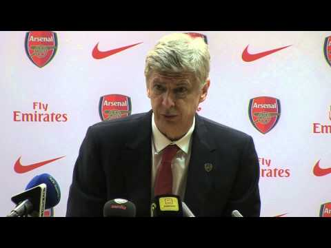 Arsene Wenger after Arsenal v Man Utd - 12.2.2014