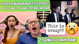 She's Gone X Pelangi Petang Mashup (Cover By Putera Muhammad ft Xpose)   REACTION!🇲🇾 - Musik76