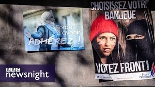 On the trail of France's National Front - Newsnight
