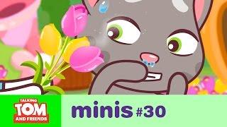 Talking Tom and Friends Minis - Sneezing Tom and the Flower Festival (Episode 30)
