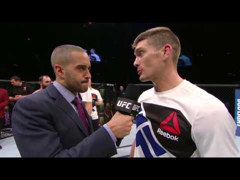 Fight Night Las Vegas: Stephen Thompson and Johny Hendricks Octagon Interview
