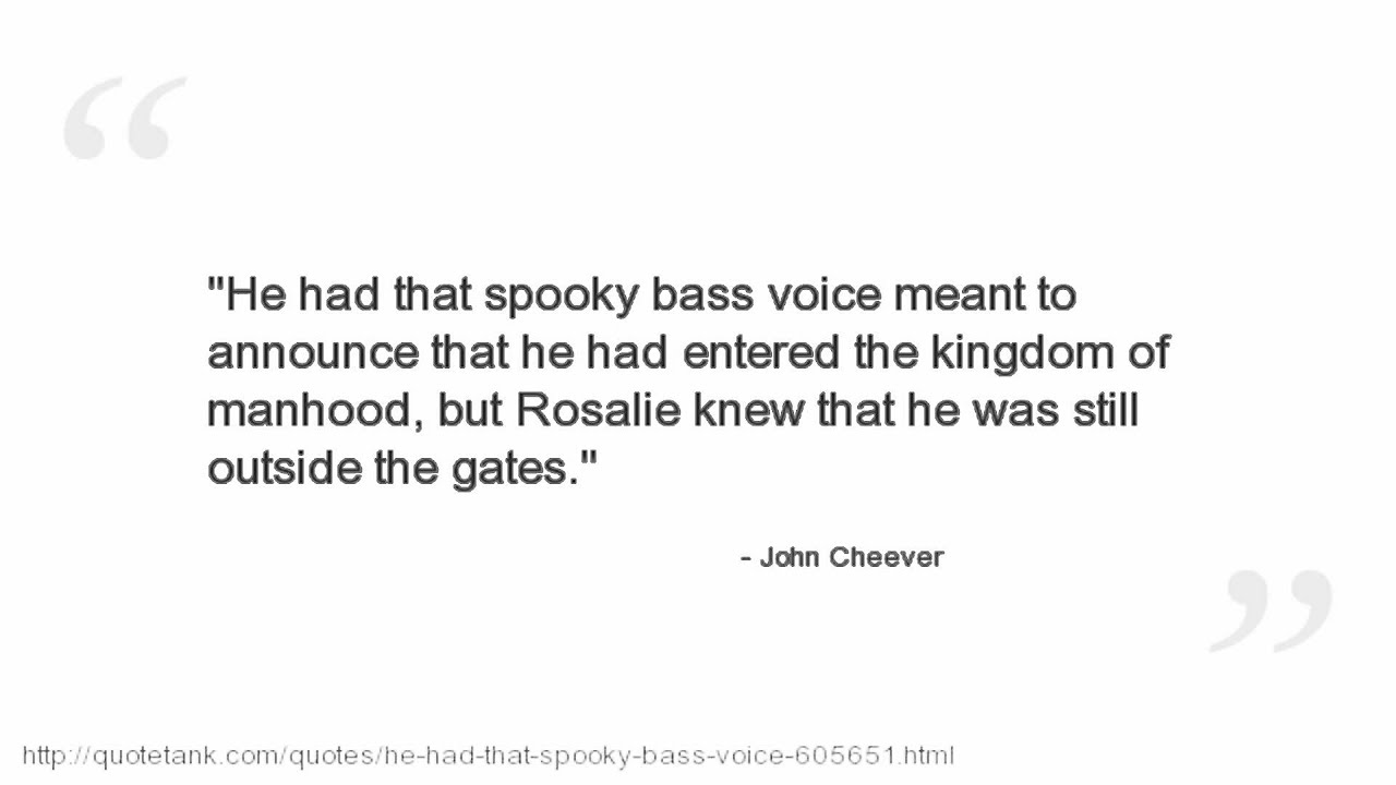 Swimmer Quotes John Cheevers John Cheever Quotes