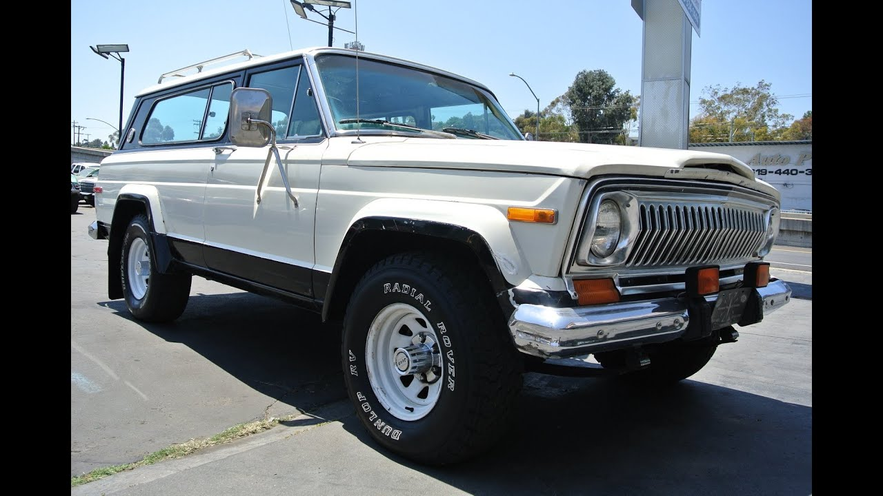 1976 Jeep Cherokee Chief S Super Chief 2 Owner Low Mile