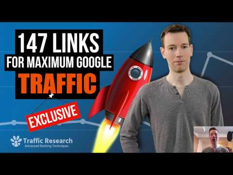 147 Backlinks For Maximum Google Traffic