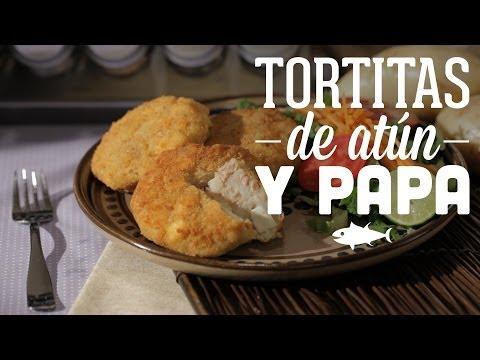 ¿Cómo preparar Tortitas de Atún y Papa?- Cocina Fresca