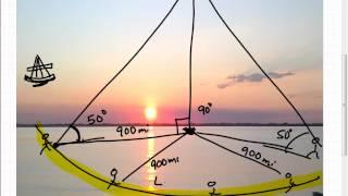 Celestial Navigation Math