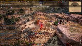 BDO | Quick 56 Awakened Warrior Grinding Desert Naga