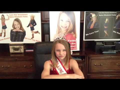 ANTSO TX Preteen Sweetheart Rylea Fields - People's Choice Video