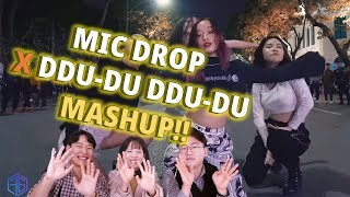 Vietnam dance team,  'MIC-DROP X DDU-DU DDU-DU' MASHUP Dance Cover reaction of Những anh em Hàn Quốc