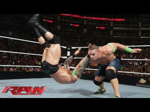 John Cena Vs. Randy Orton: Raw, Feb. 10, 2014 video