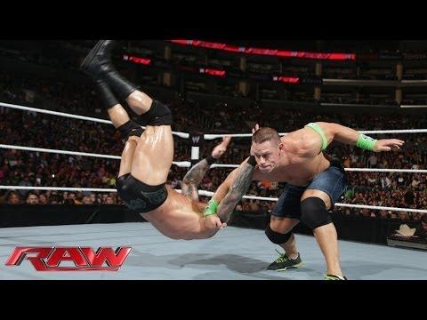 John Cena Vs. Randy Orton: Raw, Feb. 10, 2014 video