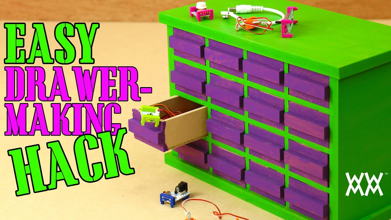 Don't panic! There's a trick for making all the drawers in ...