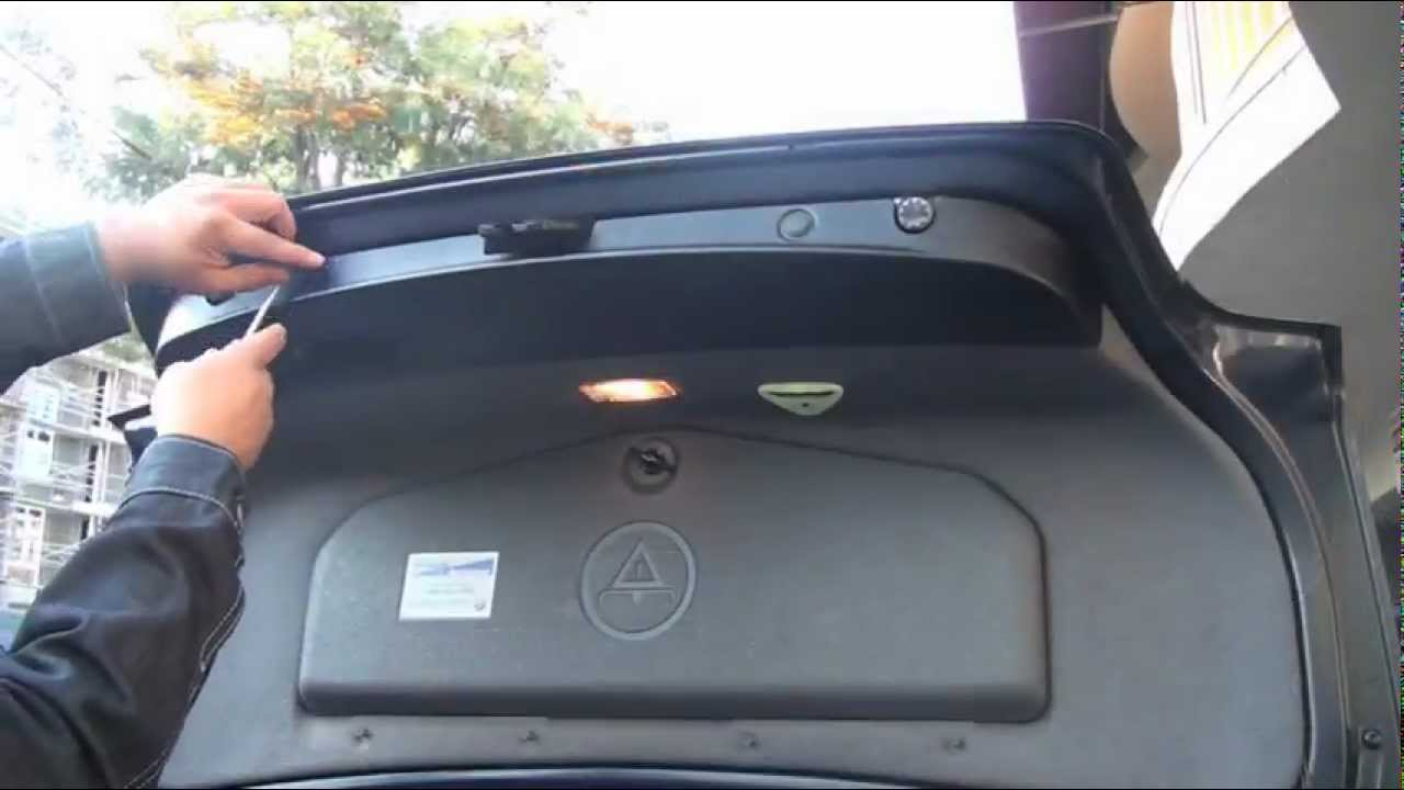 BMW Backup Camera Install - YouTube