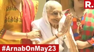 PM Narendra Modi's Mother Thanks Voters | #ModiSweep