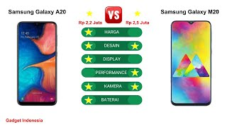 Samsung Galaxy A20 vs Galaxy M20 Indonesia   Lebih Bagus Galaxy A20 ?