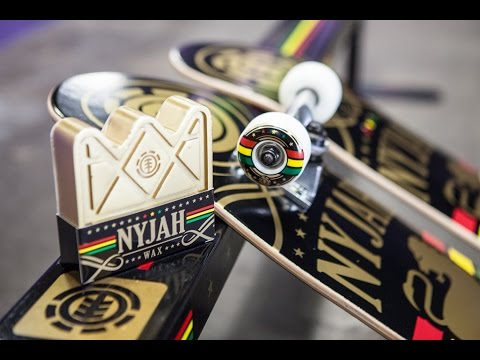 "Nyjah Huston ""Shine"" Collection - Flat Bar, Wax, Complete & Deck"