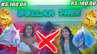 DESAFIO DOS 100 REAIS NA LOJA DE 1 DOLAR 2019 !!!
