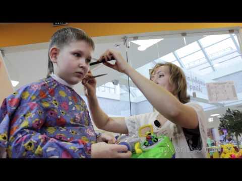 Видео как подстричь ребенка