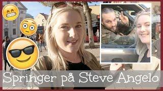 Stockholm dag 2 - Springer på Steve Angelo, leker turist och spelar shuffleboard.