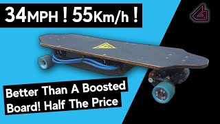 DIY Watercooled Electric Skateboard Part One - 4000W! - Better Than A Boosted Board! - Very Fast!
