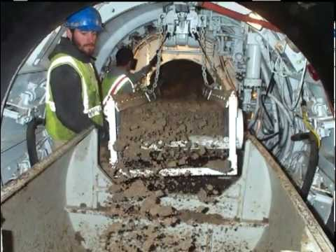 Conventional Pipe Jacking Tunnel Boring Machine Tbm