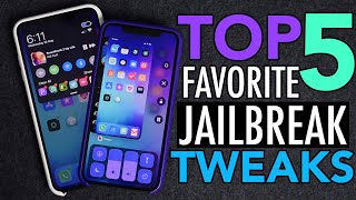 My Top 5 Favorite iOS 12 Jailbreak Tweaks!
