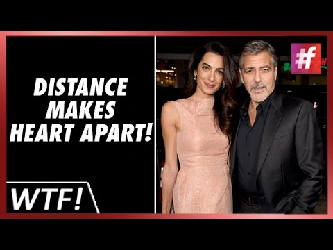 George And Amal Clooney Drifting Apart? #fame Hollywood
