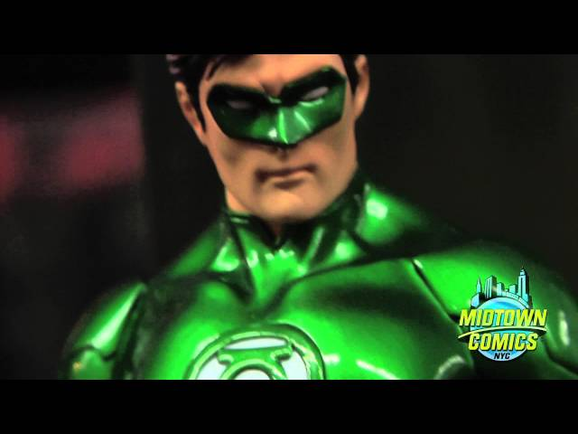 DC Comics New 52 Green Lantern and Superman Artfx Statues By Kotobukiya