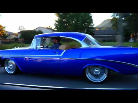 1956 Chevy Bel Air with 2008 Z06 Engine HIGH DEFINITION Music Videos