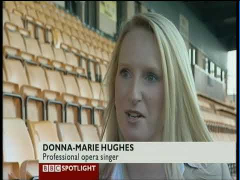 Donna-Marie Hughes BBC Spotlight Interview Friday 6th November 2009