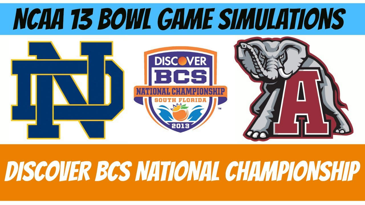 Discover Bcs Championship Game