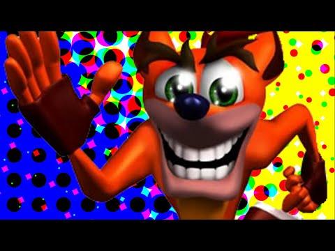 История Crash Bandicoot - Крашность