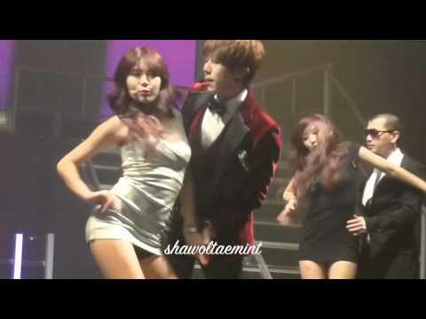 [HD CLOSE FANCAM] 111205 Trouble maker Live United Cube London