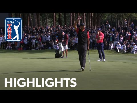 Tiger Woods' winning highlights from ZOZO Championship 2019