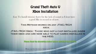 How to Install Grand Theft Auto On Xbox (JTAG/RGH) Modded Xbox