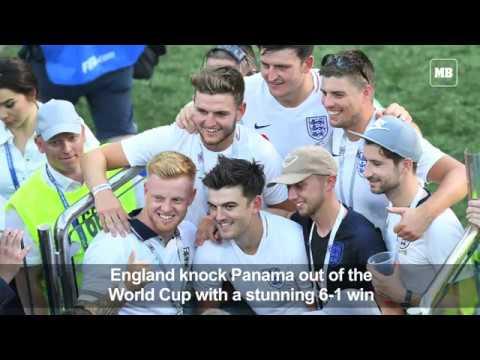 World Cup: England thrash Panama 6-1