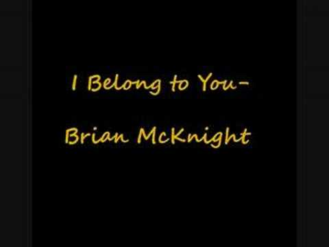 Brian Mcknight - I Belong to You