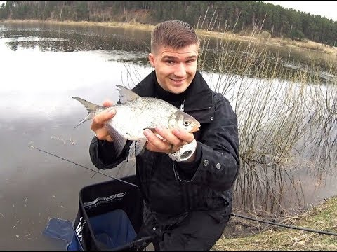 видео фидерная рыбалка весной