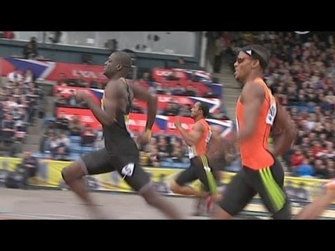Kirani James wins 400m in London Diamond League 2012