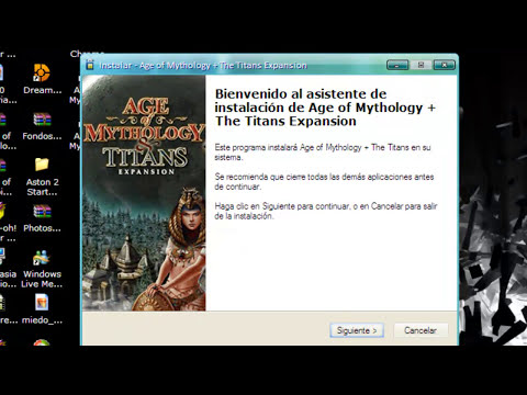Como descargar Age of Mythology + The Titans Expansion  facil y rapido
